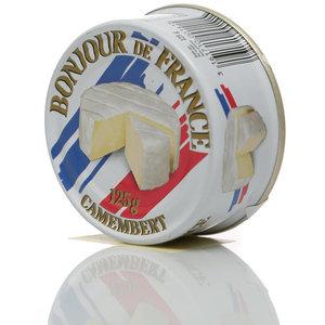 Сыр Camembert безлактозный с плесенью ТМ Bonjour de France (Привет из Франции. Камамбер) 50%