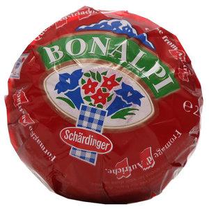 Сыр полутвердый безлактозный Bonalpi (Бналпи) ТМ Schardinger (Шардинджер)