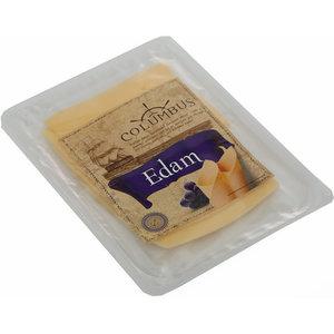 Сыр Эдам 45% в нарезке ТМ Columbus (Коламбус)