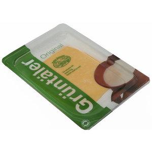 Сыр Сливочный 50% в нарезке ТМ Gruntaler (Грюнталер)