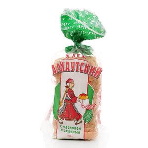 Хлеб арнаутский с чесноком и зеленью ТМ Арнаут