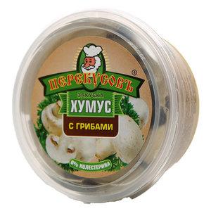 Закуска хумус с грибами ТМ Перекусов