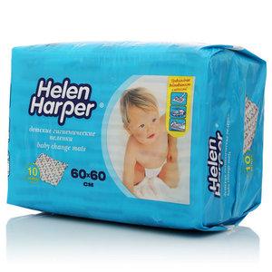 Детские гигиенические пеленки 60*60 см 10шт ТМ Helen Harper (Хелен Харпер)