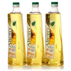 Подсолнечное масло с добавлением масла зародышей пшеницы  3*745 мл ТМ Altero Vitality (Альтеро Виталити)