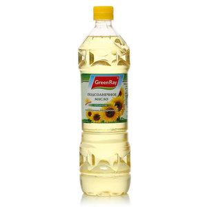 Подсолнечное масло дезодорированное рафинированное премиум ТМ Green Ray (Грин Рэй)