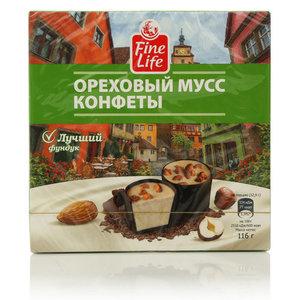Ореховый мусс конфеты ТМ Fine Life (Файн Лайф)