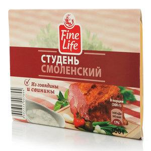 Студень Смоленский из говядины и свинины ТМ Fine Life (Файн Лайф)