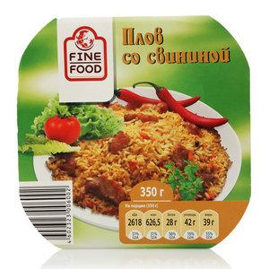 Плов со свининой ТМ Fine Food (Фин Фуд)