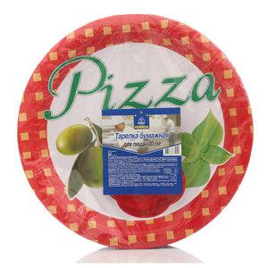 Тарелка бумажная для пиццы 30 см ТМ Horeca Select (Хорека Селект), 50 шт
