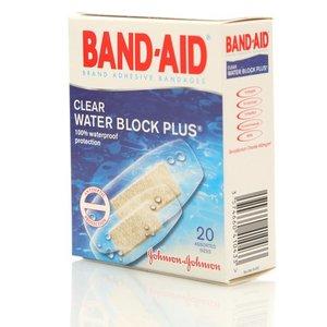Пластырь антисептический водостойкий ТМ Band-Aid (Бэнд Аид) 20 шт