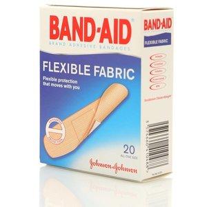 Пластырь антисептический эластичный ТМ Band-Aid (Бэнд Аид) 20 шт