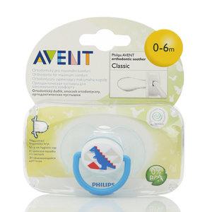 Ортодонтическая пустышка серии Класик для детей 0-6 мес. ТМ Avent (Авент)