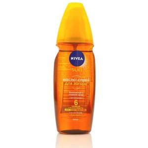 Масло-спрей для загара SPF-6 Nivea Sun (Нивеа Сан) ТМ Nivea (Нивеа)
