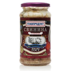 Свинина тушеная Высший сорт ТМ Главпродукт