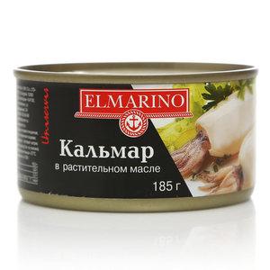 Кальмар в растительном масле ТМ Elmarino (Эльмарино)