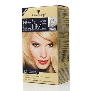 Стойкая крем-краска Blonde ultime (блонд ултайм) экстрасветлый холодный блонд ТМ Schwarzkopf & Henkel (Шварцкопф и Хенкель)