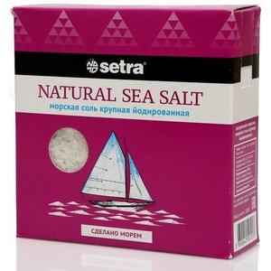 Соль крупная йодированная ТМ Setra (Сетра)