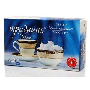 Сахар белый кусковой Экстра ТМ Традиция