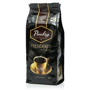 Кофе в зернах Presidentti Black Label ТМ Paulig (Паулиг)