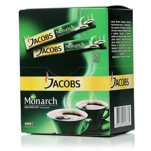 Кофе в пакетиках Jacobs Monarch (Якобс Монарх) ТМ Jacobs (Якобс ) растворимый сублимированный