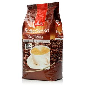 Кофе жареный в зернах BellaCrema LaCrema (БеллаКрема ЛаКрема) ТМ Melitta (Мелитта)
