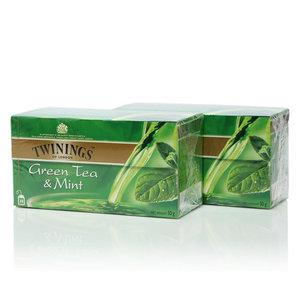 Чай зеленый с мятой 2*25*2г ТМ Twinings (Твайнингс)