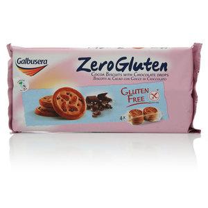 Печенье шоколадное с кусочками шоколада ТМ Galbusera (Галбусера)