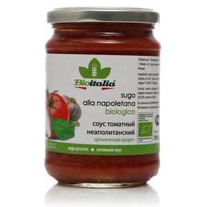 Соус томатный неополитанский ТМ Bioitalia (Биоиталия)