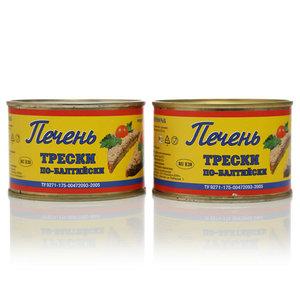 Печень трески по-Балтийски ТМ Посейдон, 2*250г