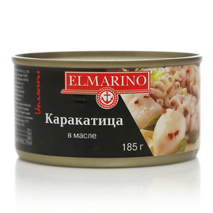 Каракатица в масле ТМ Elmarino (Эльмарино)