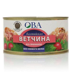 Ветчина Балтийская из свинины ТМ ОВА