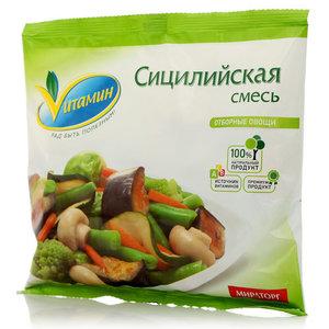 Сицилийская смесь отборные овощи свежезамороженные ТМ Vитамин (Витамин)