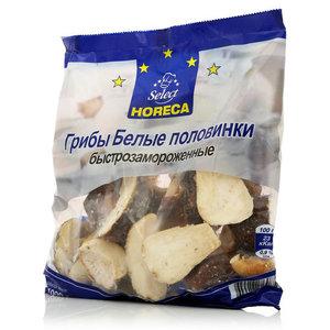 Грибы белые половинки свежезамороженные ТМ Horeca Select (Хорека Селект)