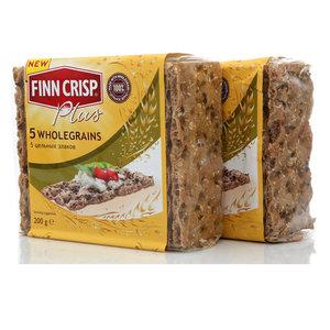 Хлебцы 5 Цельных Злаков 2*200г TM Finn Crisp (Финн Крисп)