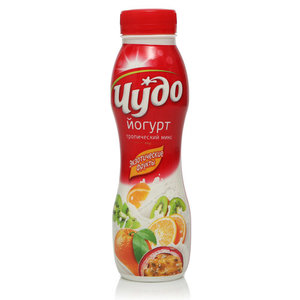 Йогурт питьевой Тропический Микс Экзотические Фрукты 2,4% ТМ Чудо
