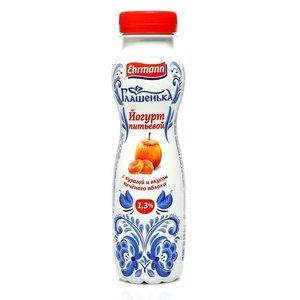 Йогурт курага и печеное яблоко 1,3% ТМ Глашенька
