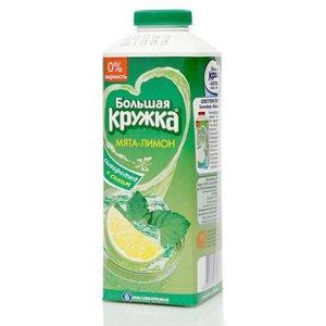 Напиток сывороточный мята-лимон 0,0% ТМ Большая кружка