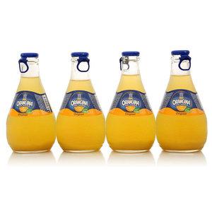 Напиток среднегазерованный ТМ Orangina (Оранджина), 4*250мл