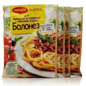 Смесь для Макарон в томатно-мясном соусе Болонезе 4*41г ТМ Maggi (Магги) на второе