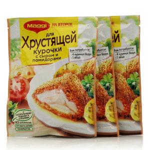 Смесь сухая для хрустящей Курочки с сыром и помидорами, 3*24г, ТМ Maggi (Магги) на второе
