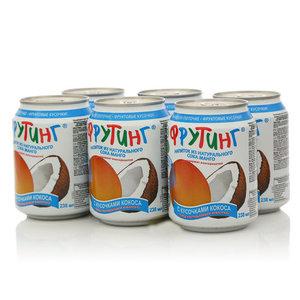 Напиток Манго с кусочками манго, 6*238мл ТМ Fruiting (Фрутинг)