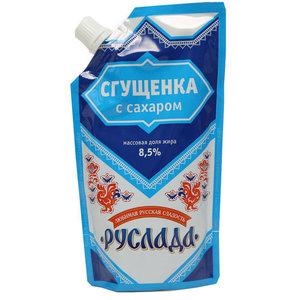Сгущенка с сахаром 8,5% ТМ Руслада