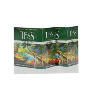 Чай зеленый 2*20*1,8г ТМ Tess (Тесс) Pina Colada