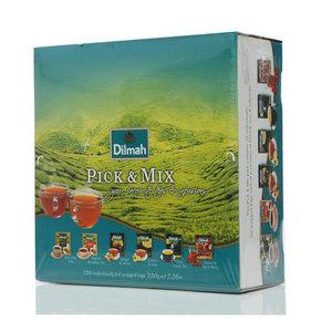 Набор чая ТМ Dilmah (Дилма) Pick & Mix, (20 пакетиков по 1,5 г, 20 пакетиков по 4 г, 40 пакетиков по 2 г)