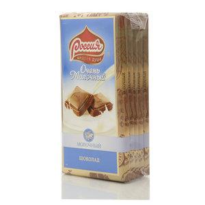 Шоколад Очень Молочный 5*95г ТМ Россия