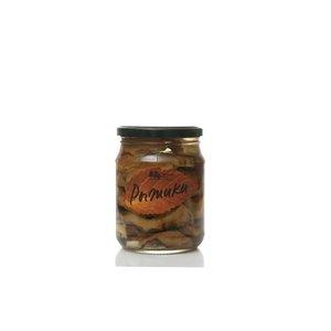 Грибы Рыжики соленые резанные  ТМ Таёжный сбор