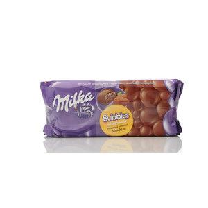 Шоколад молочный пористый Milka bubbles Миндаль ТМ Milka (Милка)