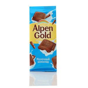 Шоколад молочный ТМ Альпен гольд