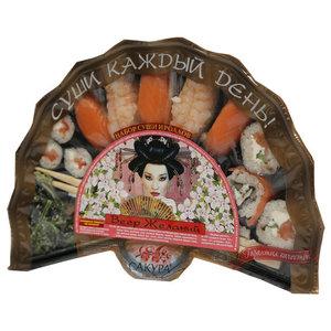 Набор суши и роллов Веер желаний ТМ Сакура De Luxe (Сакура де Люкс)