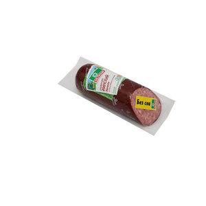 Колбаса варено-копченая Сервелат Финский Велком, мясное колбасное изделие ТМ Велком